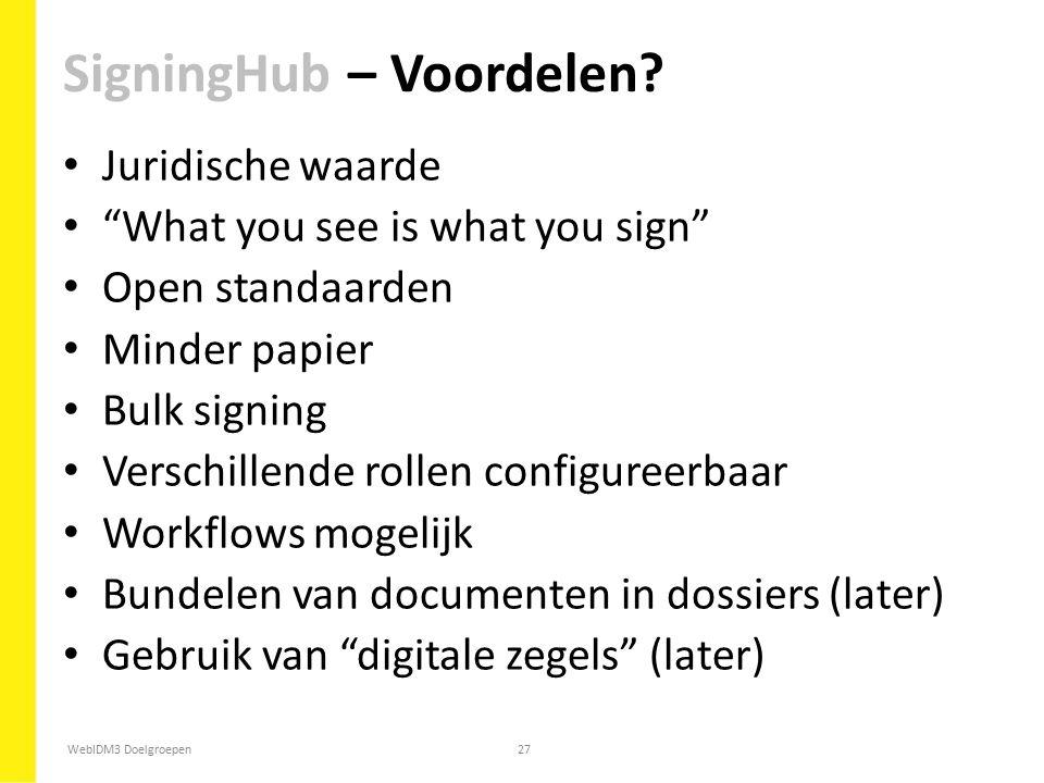 SigningHub – Voordelen