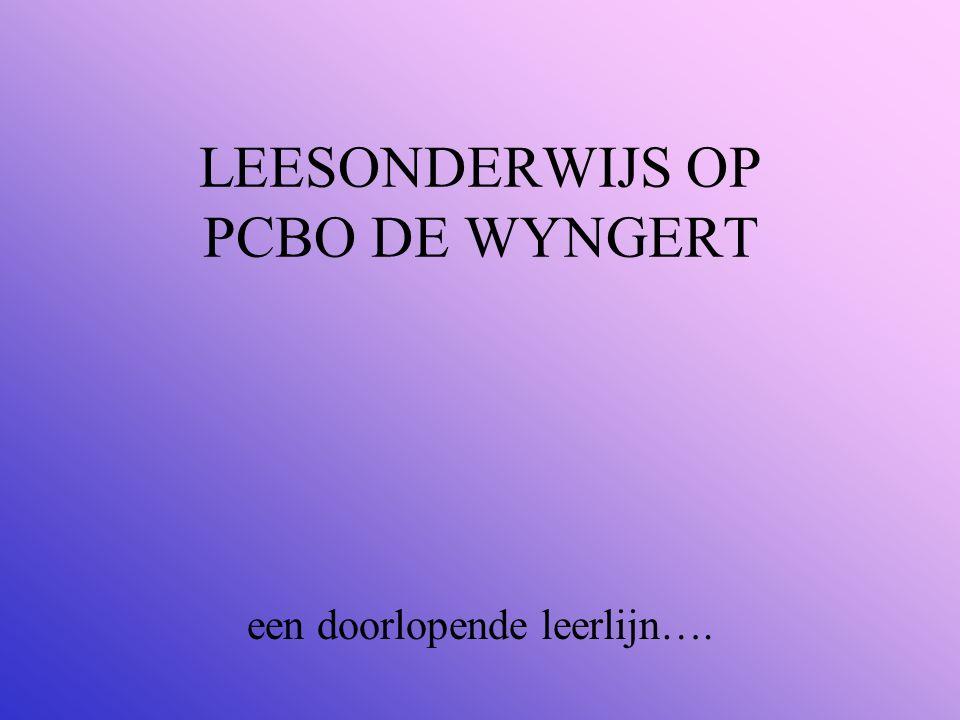 LEESONDERWIJS OP PCBO DE WYNGERT
