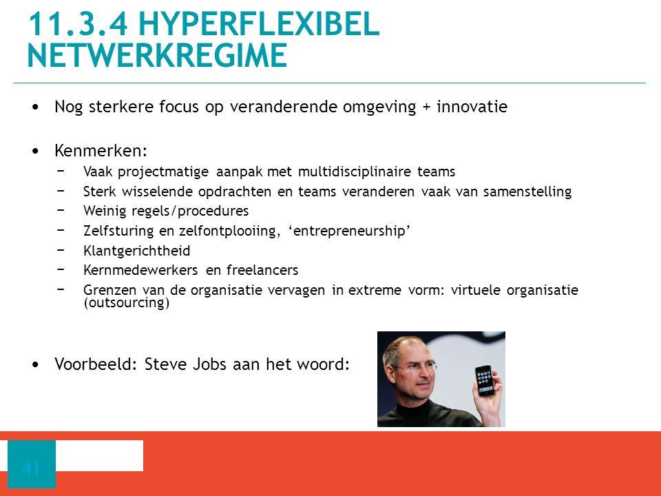 11.3.4 hyperflexibel netwerkregime
