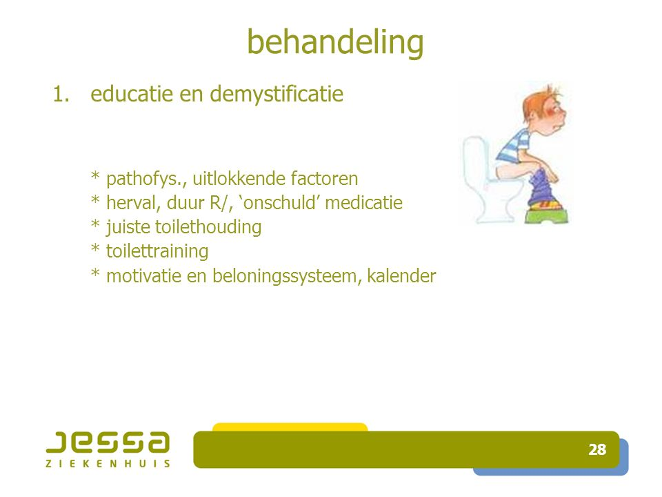 behandeling educatie en demystificatie