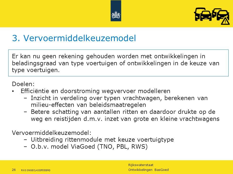 3. Vervoermiddelkeuzemodel