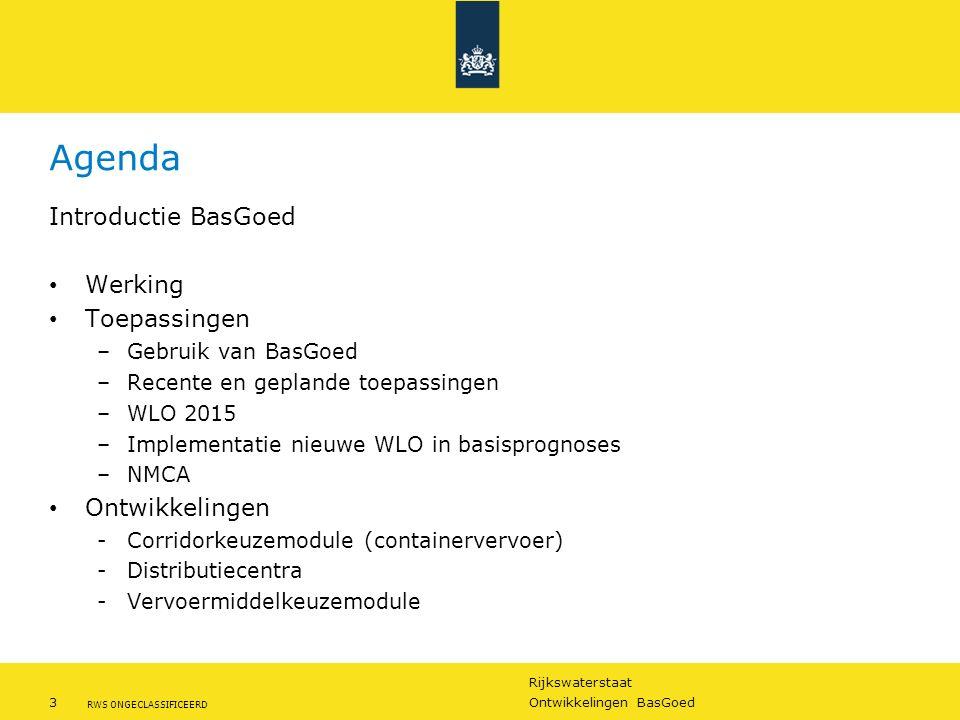 Agenda Introductie BasGoed Werking Toepassingen Ontwikkelingen