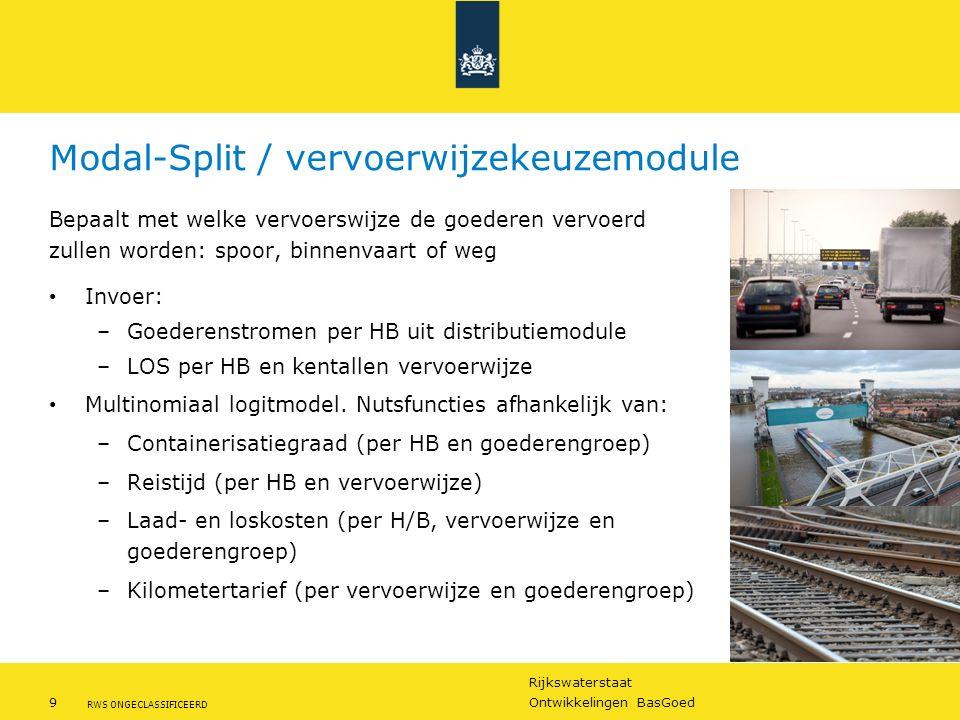 Modal-Split / vervoerwijzekeuzemodule