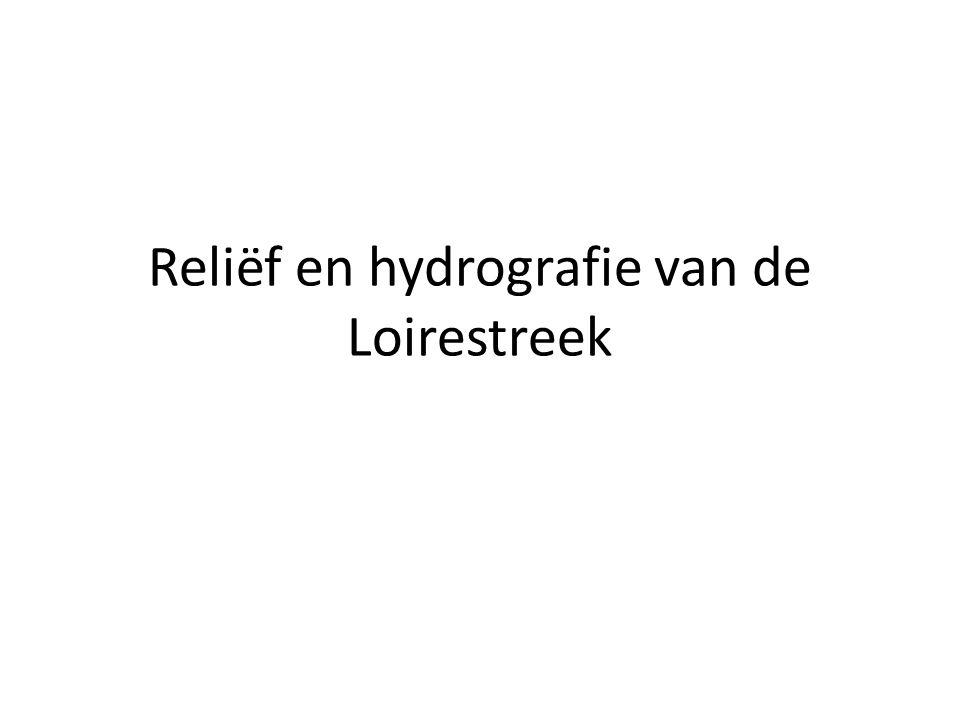 Reliëf en hydrografie van de Loirestreek