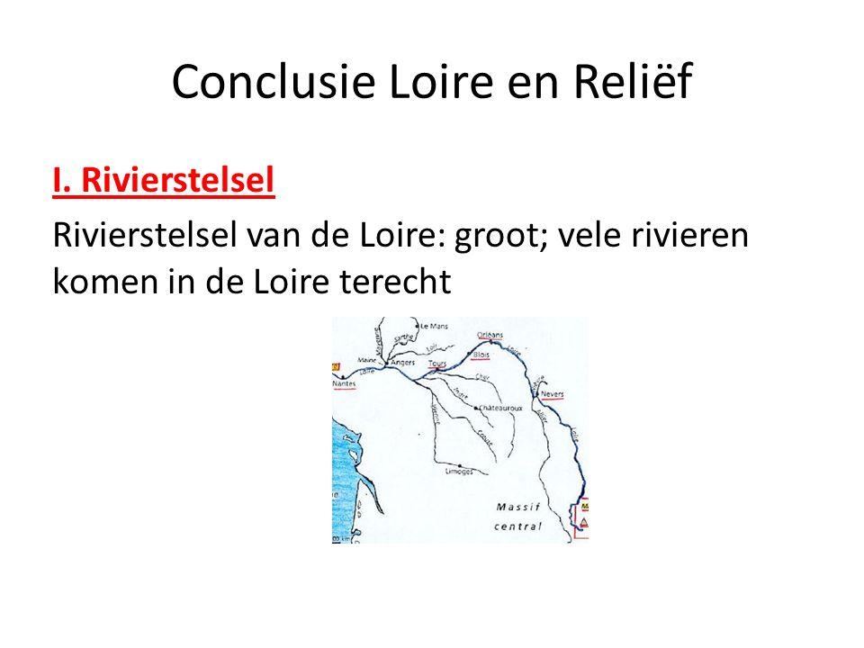 Conclusie Loire en Reliëf