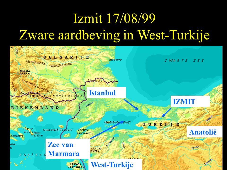 Izmit 17/08/99 Zware aardbeving in West-Turkije