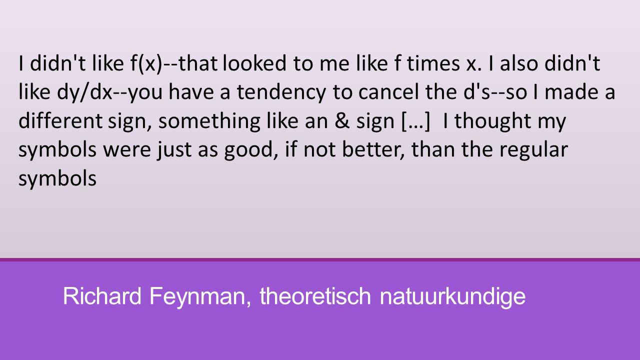Richard Feynman, theoretisch natuurkundige