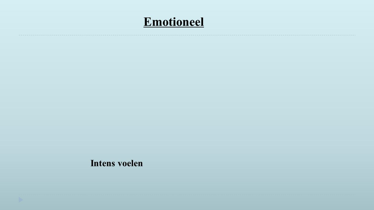 Emotioneel Labels Intens voelen