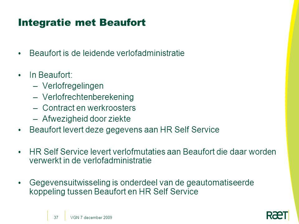 Integratie met Beaufort