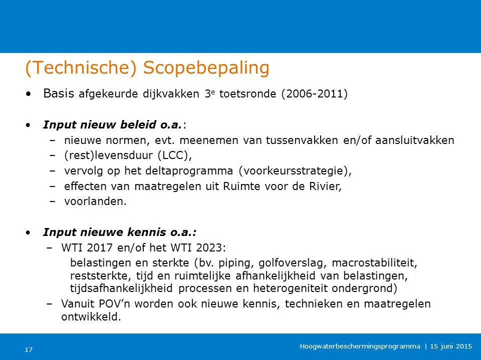 (Technische) Scopebepaling