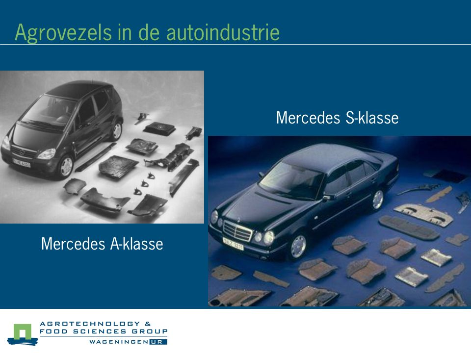 Agrovezels in de autoindustrie
