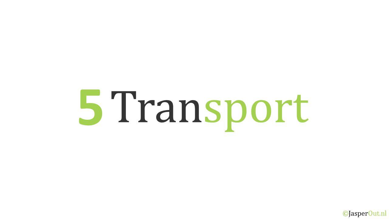 5 Transport ©JasperOut.nl