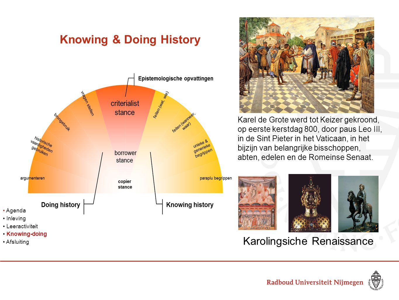 Knowing & Doing History
