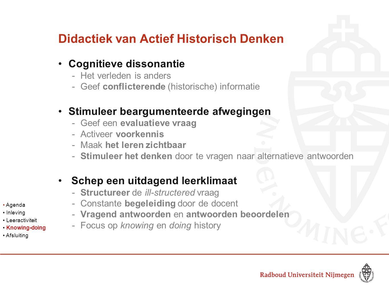 Didactiek van Actief Historisch Denken
