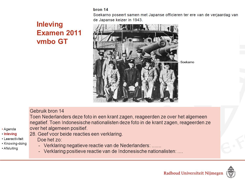 Inleving Examen 2011 vmbo GT