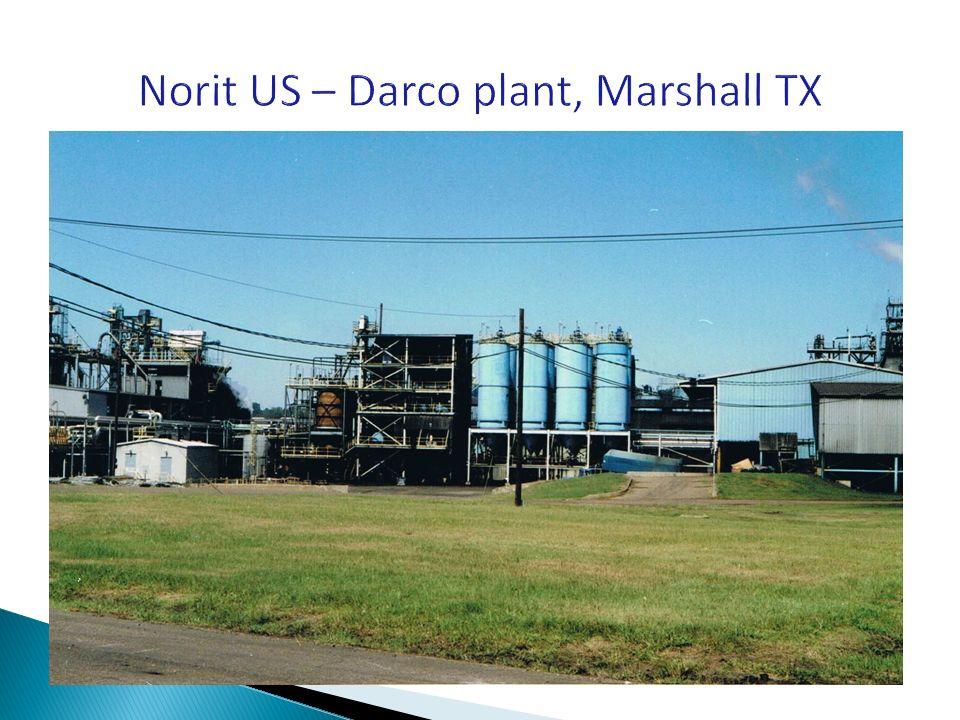 Norit US – Darco plant, Marshall TX