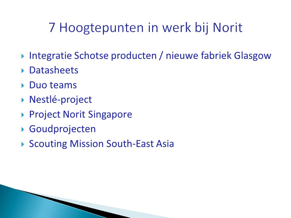 7 Hoogtepunten in werk bij Norit