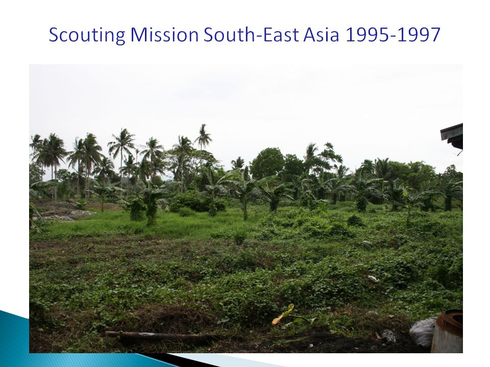 Scouting Mission South-East Asia 1995-1997