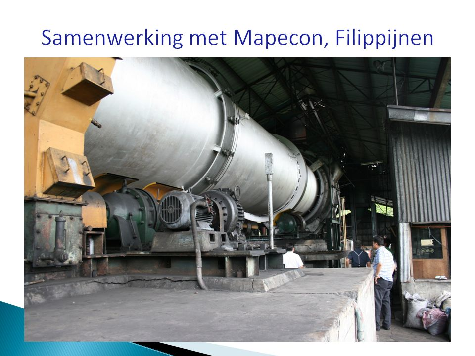 Samenwerking met Mapecon, Filippijnen