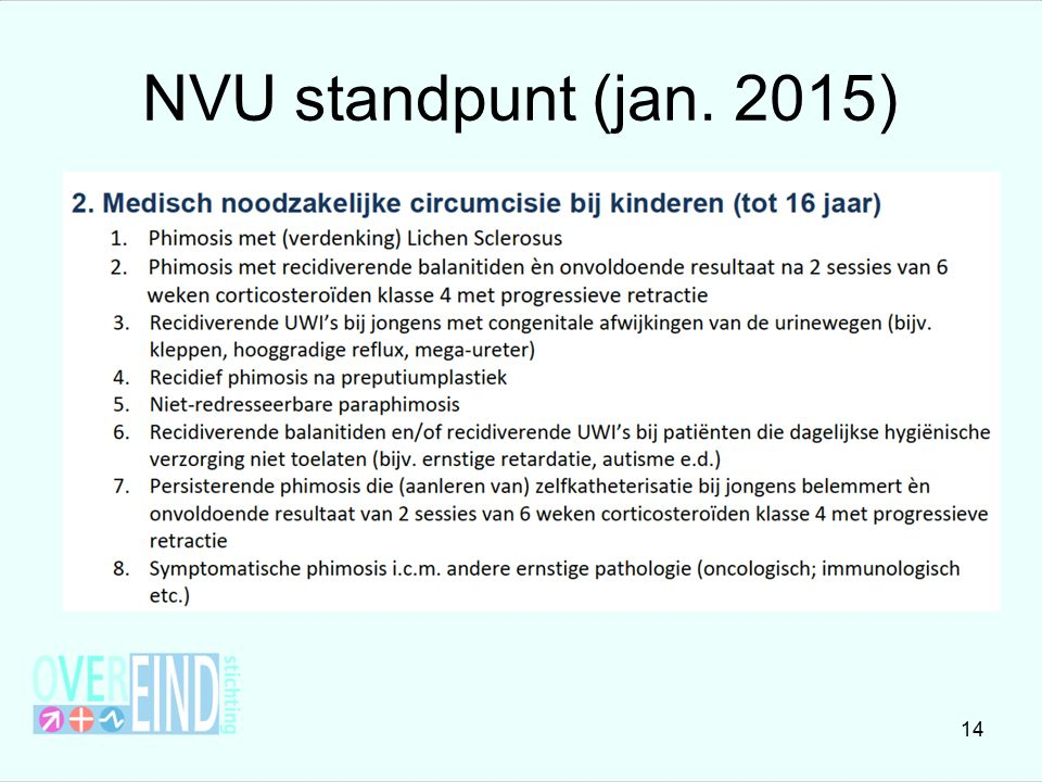 NVU standpunt (jan. 2015)
