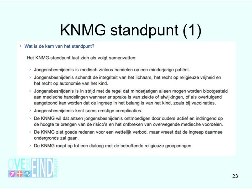 KNMG standpunt (1)