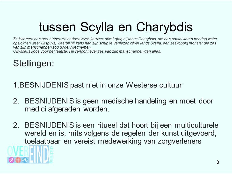 tussen Scylla en Charybdis