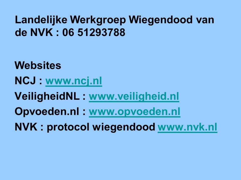 Landelijke Werkgroep Wiegendood van de NVK : 06 51293788