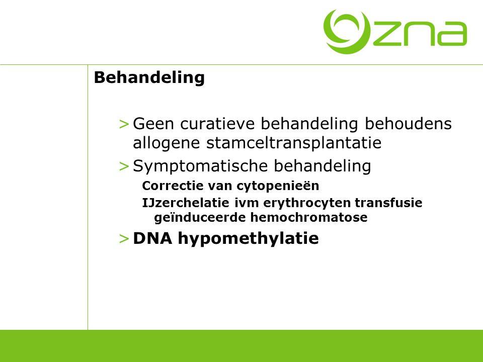 5-aza-2'-deoxycitidine Gen re-expressie