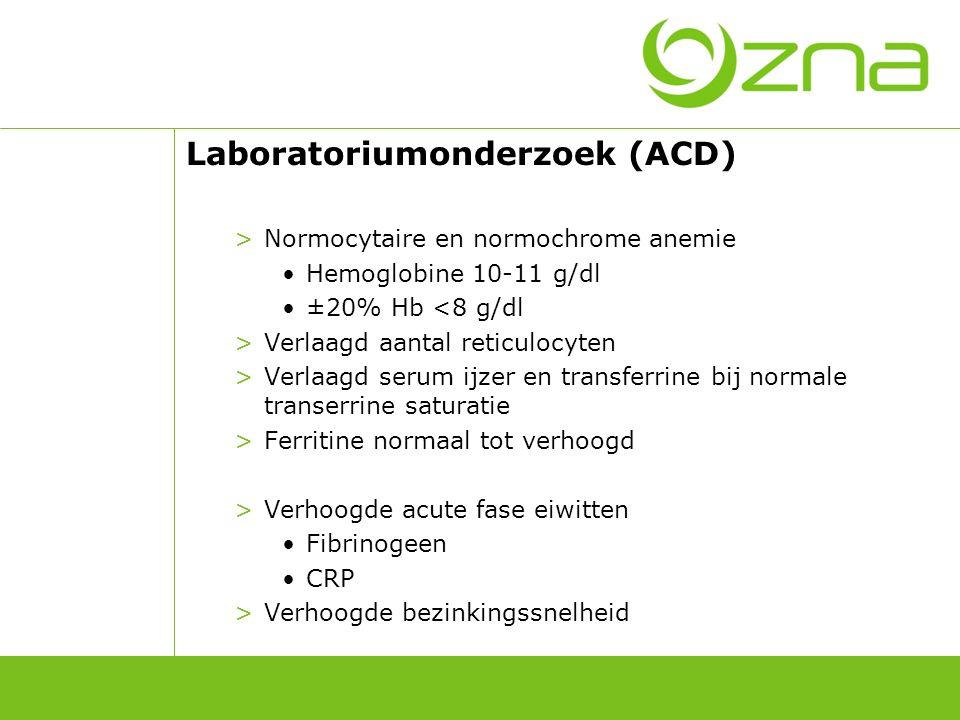 Behandeling (ACD) Behandelen van onderliggende ziekte