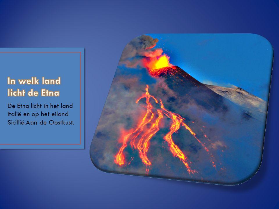 In welk land licht de Etna