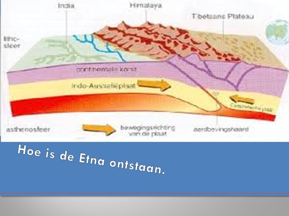 Hoe is de Etna ontstaan.