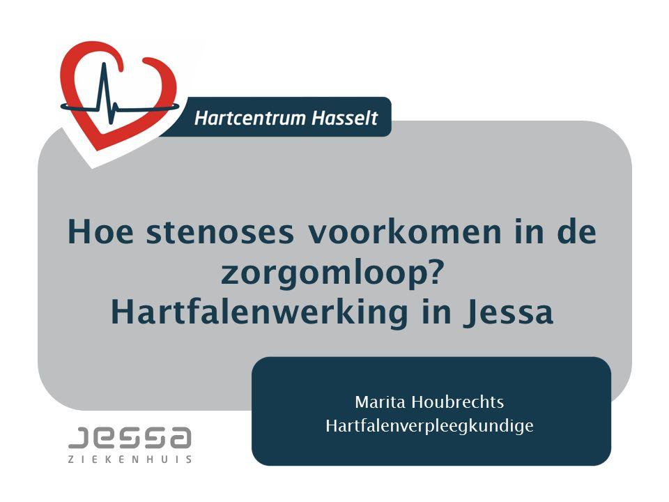 Hoe stenoses voorkomen in de zorgomloop Hartfalenwerking in Jessa