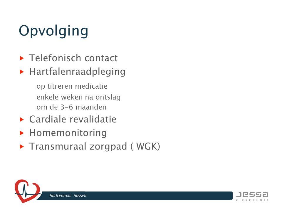 Opvolging Telefonisch contact Hartfalenraadpleging