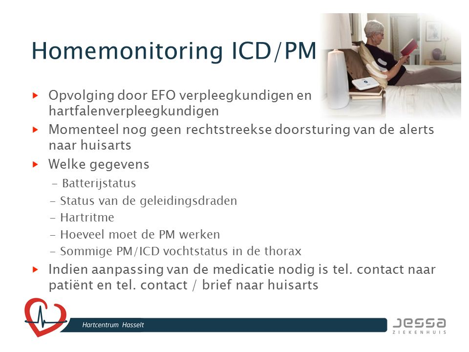 Homemonitoring ICD/PM