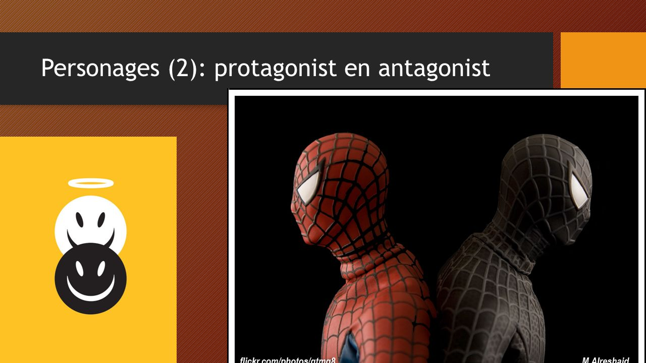 Personages (2): protagonist en antagonist