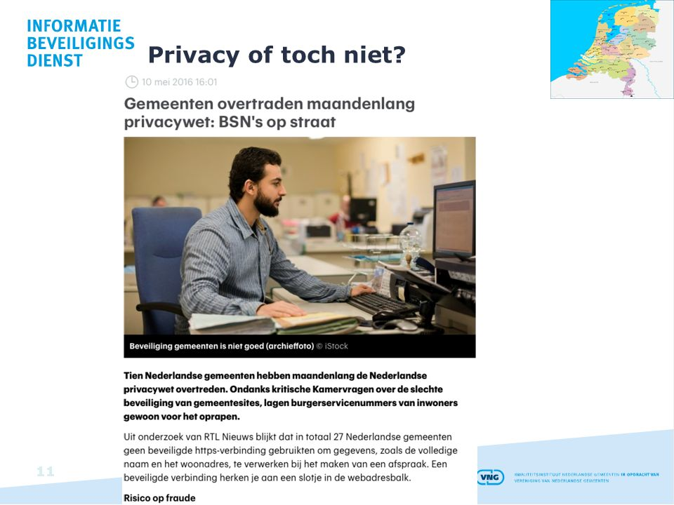 Privacy of toch niet
