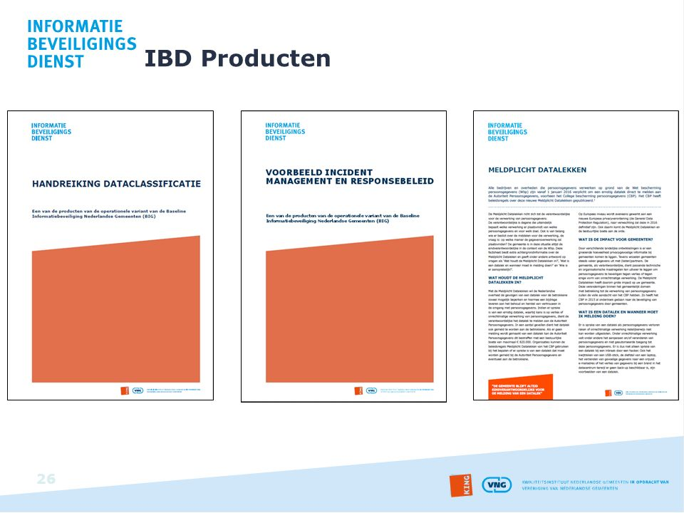 IBD Producten