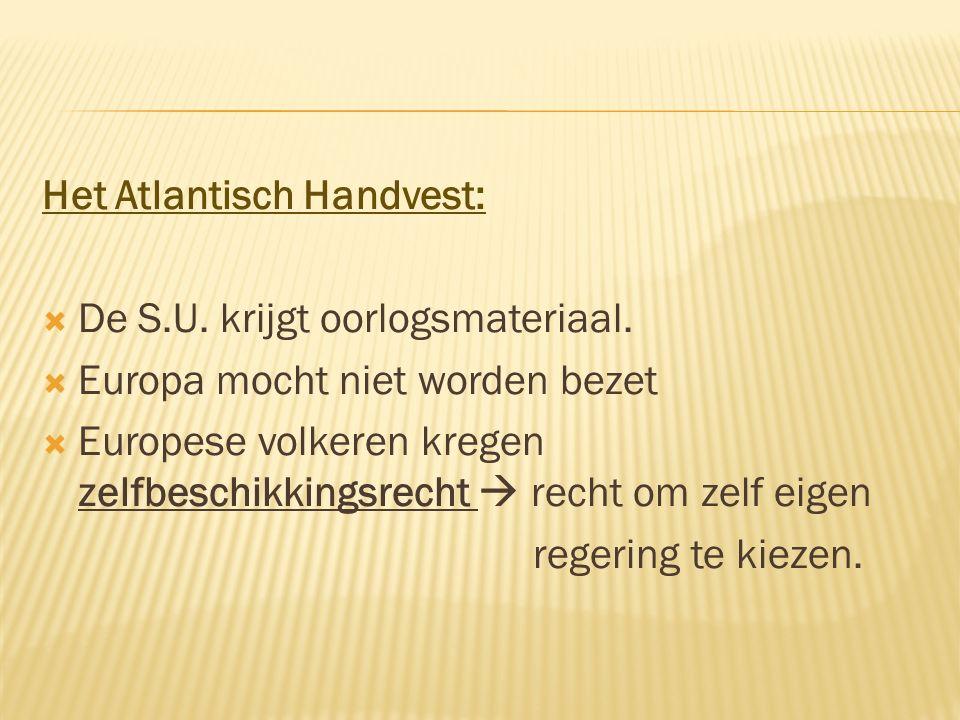 Het Atlantisch Handvest: