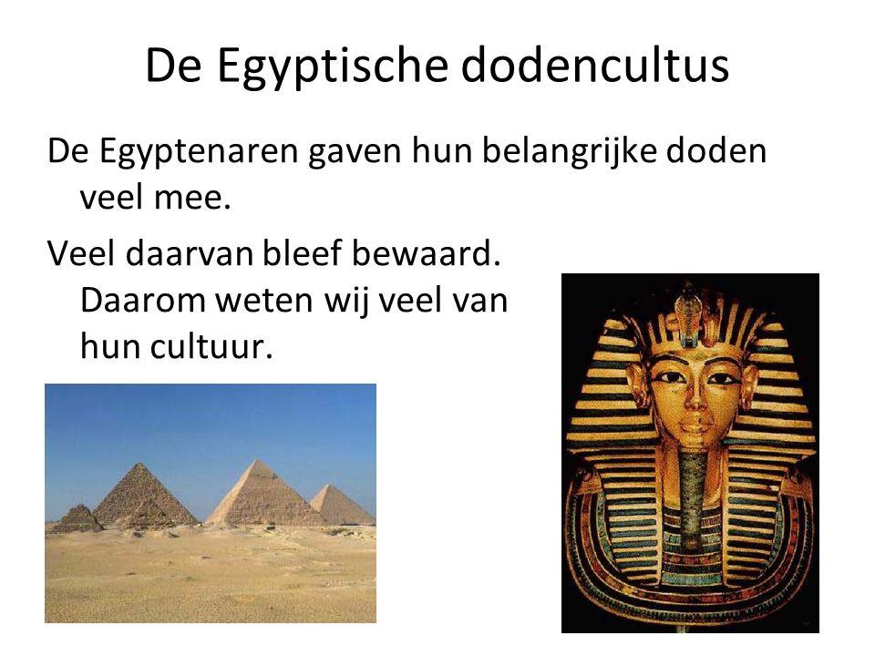 De Egyptische dodencultus