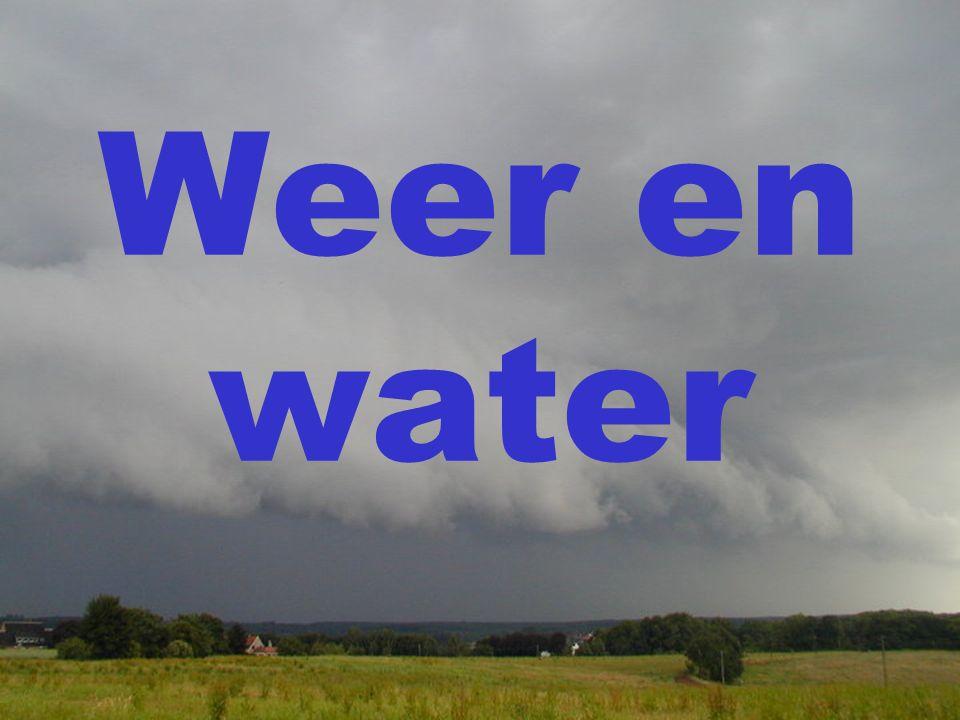 Weer en water