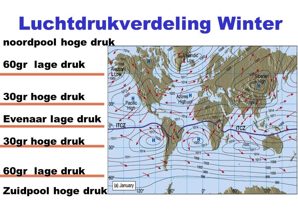 Luchtdrukverdeling Winter