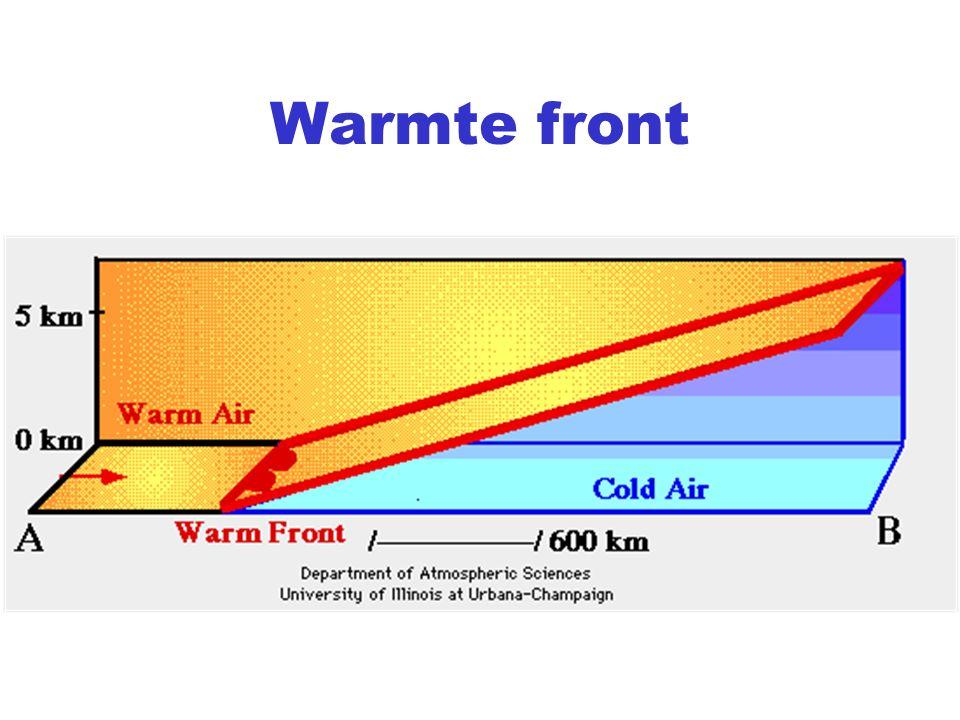 Warmte front