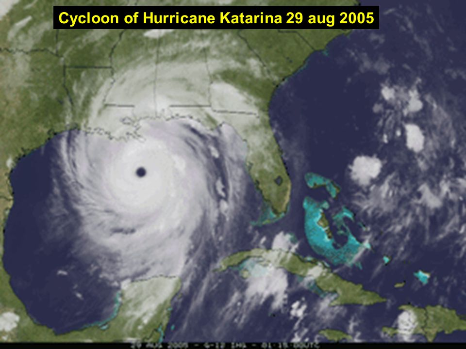 Cycloon of Hurricane Katarina 29 aug 2005