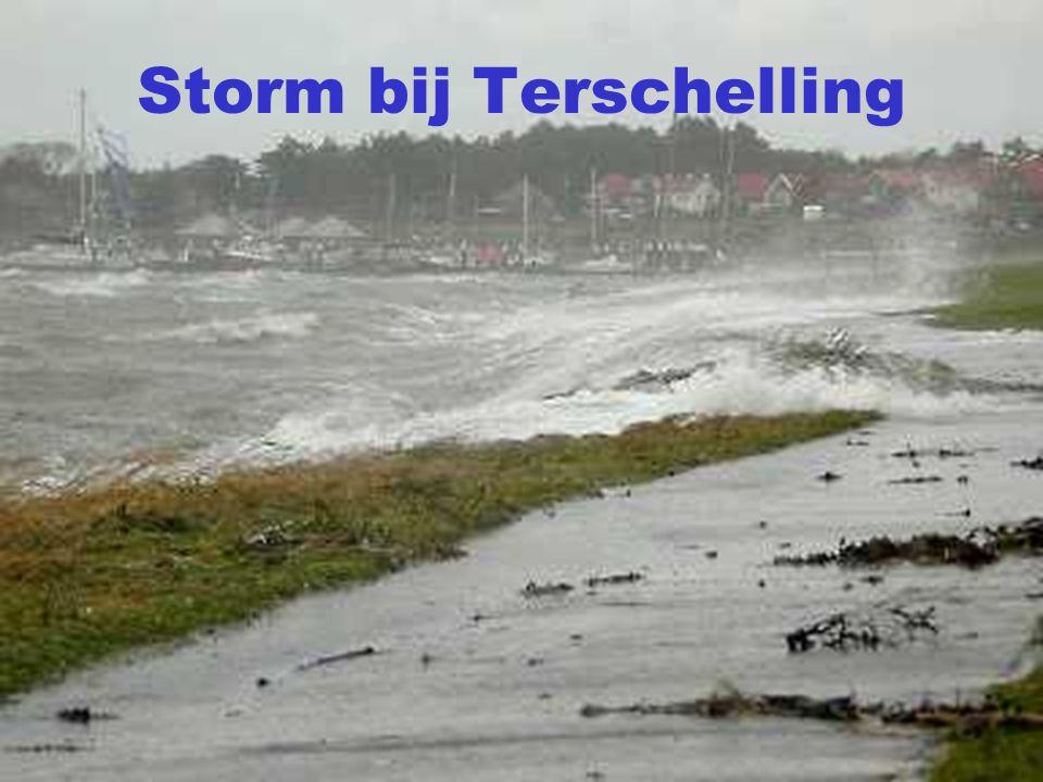 Storm bij Terschelling