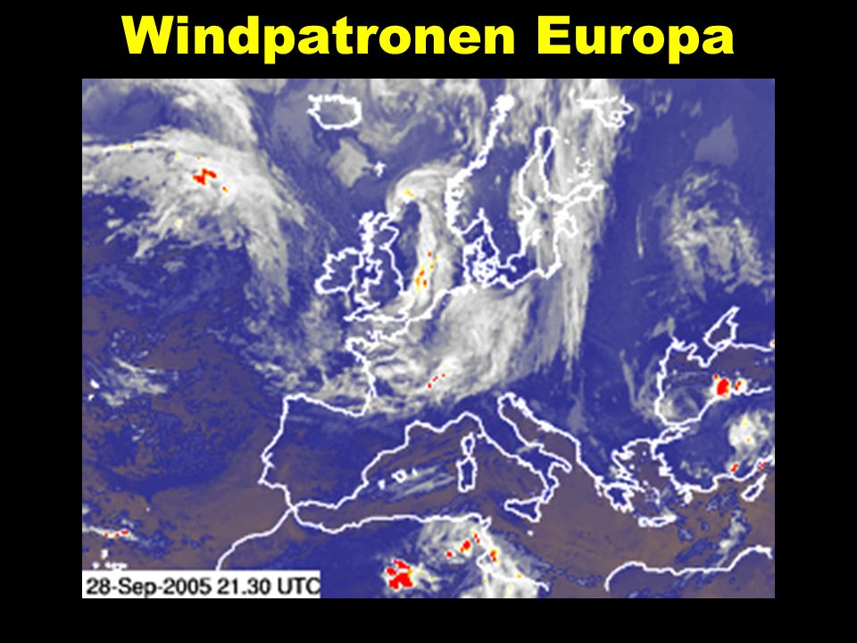 Windpatronen Europa
