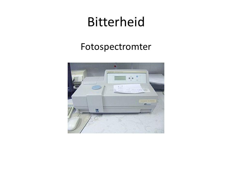 Bitterheid Fotospectromter