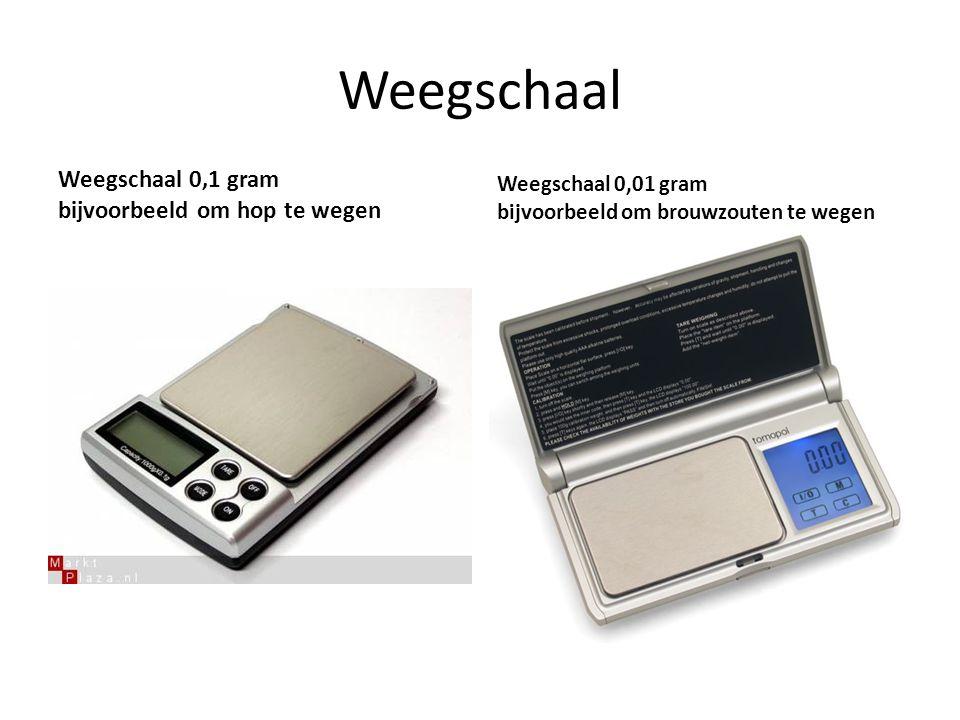 Weegschaal Weegschaal 0,1 gram bijvoorbeeld om hop te wegen