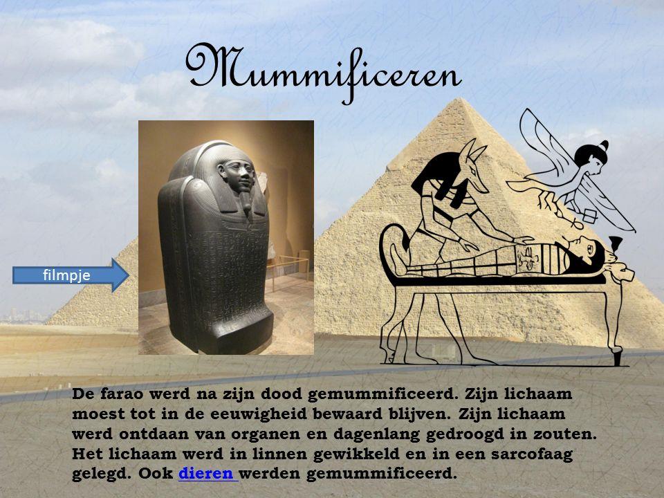 Mummificeren filmpje.