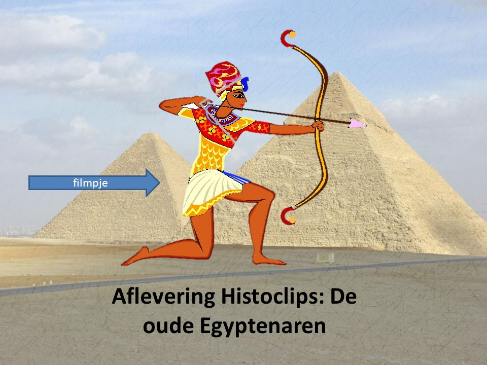 Aflevering Histoclips: De oude Egyptenaren