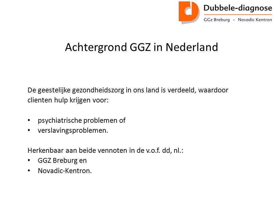 Achtergrond GGZ in Nederland